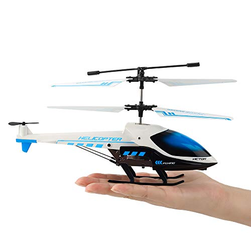 ROTOBAND Remote Control Helicopter, RC Helicopter with Gyro 3.5 Channel Mini Alloy Micro Helicopter Toys Summer Gifts for Kids and Adults