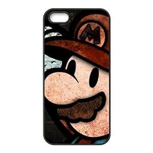 iPhone 5 5s Cell Phone Case Black Super Mario Bros pnws