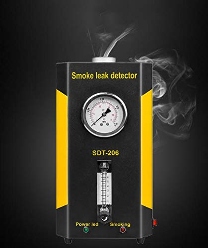 SDT-206 Car Smoke Machines Professional Repairing Adjustable Flowmeter Cars Leak Locator Automotive Diagnostic Leak Detector by Wal front (Image #5)