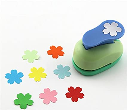 Amazon Cady Crafts Punch 1 Inch Paper Punches Flower