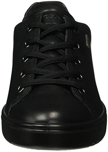 para Derby de Fara Cordones Zapatos Ecco Negro Mujer Black1001 B6WI7XfF