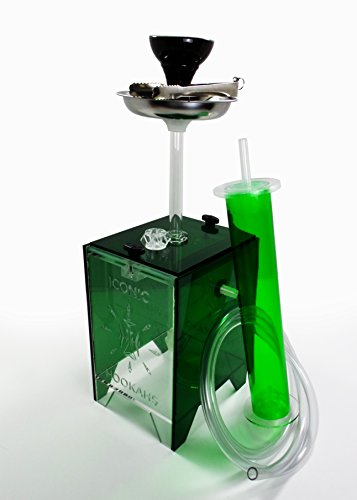 Arctic Freeze Hookah (Green)