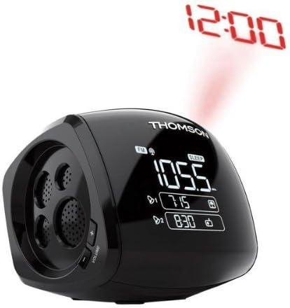 Radio despertador con proyector CP280 + 4 pilas LR6 (AA) Xtreme ...
