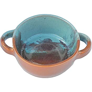Amazon Com French Onion Soup Bowl In Indian Summer Glaze