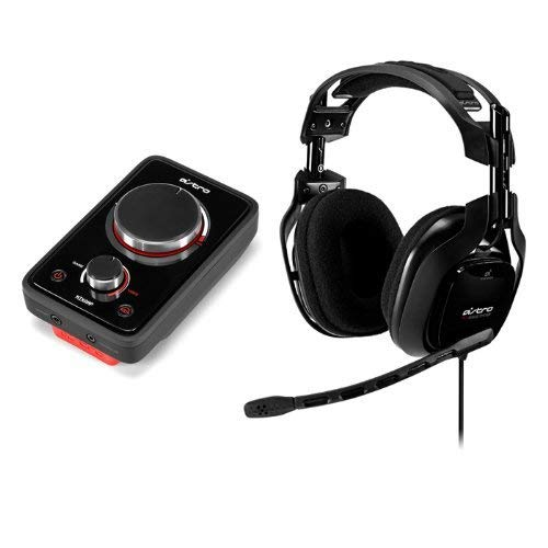 ASTRO Gaming A40 Audio System (with USB Mixamp) - Black (Renewed) by ASTRO Gaming