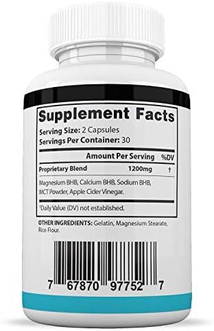 Pure Keto XP Max 1200MG Keto Pills Advanced Ketogenic Supplement Real Exogenous Ketones Ketosis for Men Women 60 Capsules 1 Bottle 4