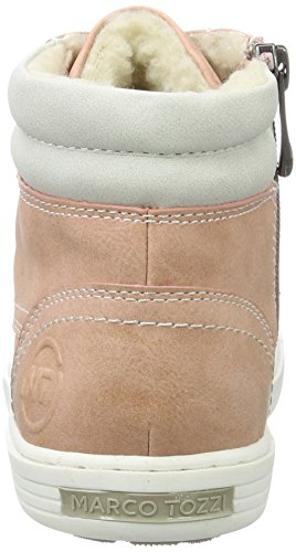 Marco rose Sneakers 46207 ice Hautes Tozzi Fille Rose wr67qawA