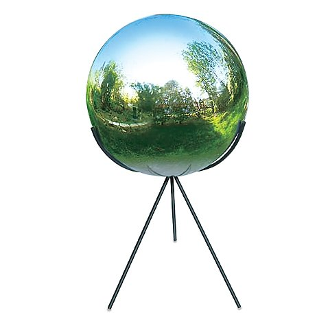 Rome Industries Tri-Pod Pedestal Base for 10-Inch Gazing Balls in Wrought Iron