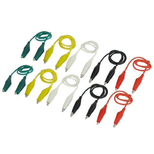 uxcell 10Pcs Double ended Alligator Crocodile product image