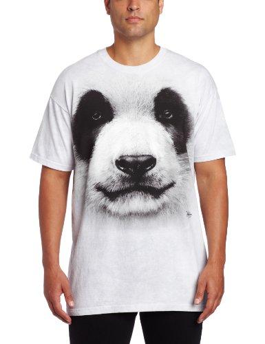 Big Face Panda Animal T Shirt Adult Unisex The Mountain
