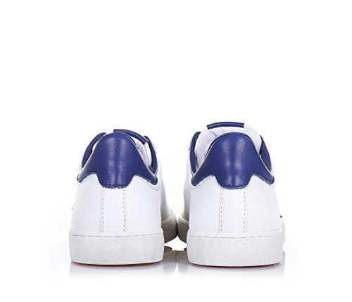 CIAO BIMBI - Blauer und weißer Schuh mit Schnürsenkeln aus Leder, in jedem Detail gepflegt, Stil, Jungen
