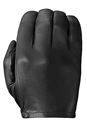 Tough Gloves Men's Ultra Thin Patrol-X Cabretta unlined leather gloves no points Size 6 Color Black