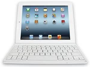 Logitech 920-004930 - Funda Ultrafina con Teclado para Apple iPad 2, iPad 3ª y 4ª generación, Color Blanco - QWERTY español