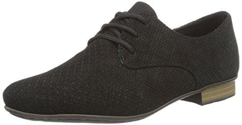 Rieker 51915, Zapatos Derby Mujer Negro (Schwarz/00)
