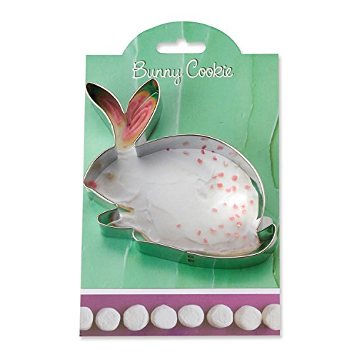 - Easter Bunny Cookie and Fondant Cutter - Ann Clark - 4.5 Inches - US Tin Plated Steel