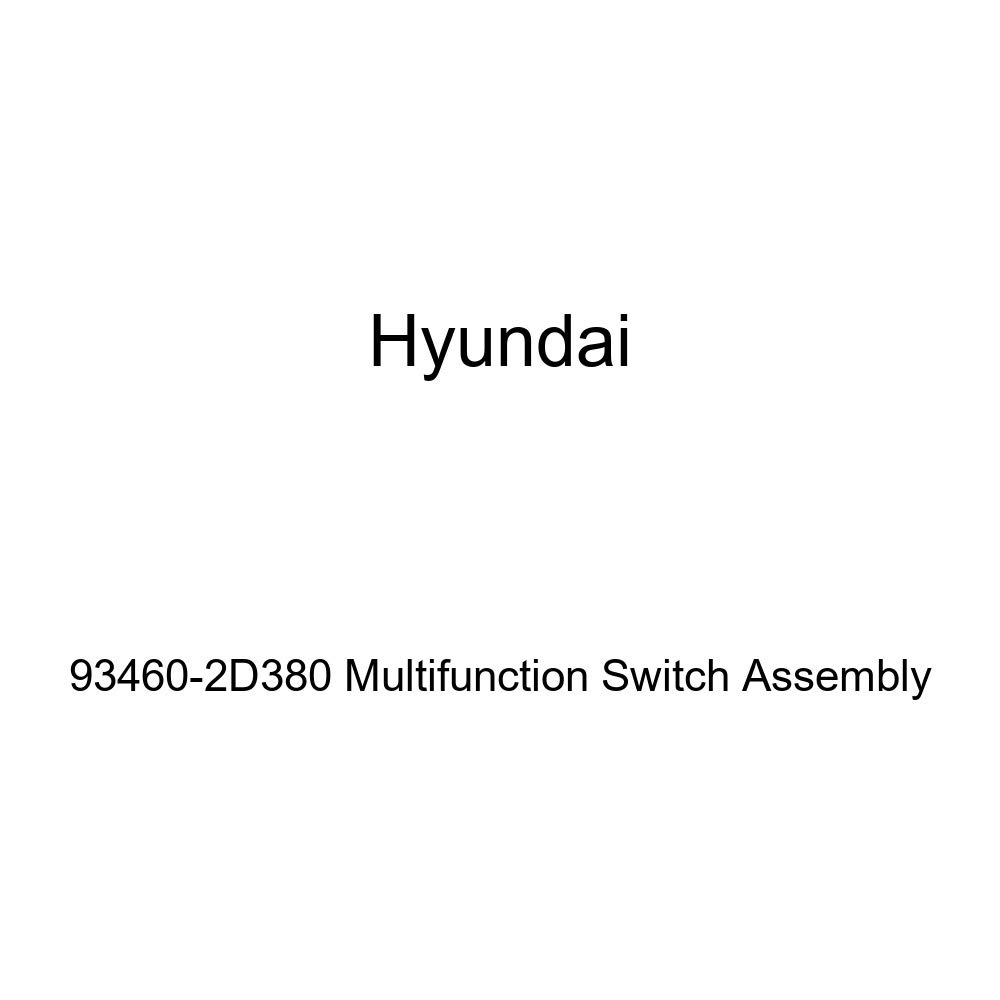 Genuine Hyundai 93460-2D380 Multifunction Switch Assembly
