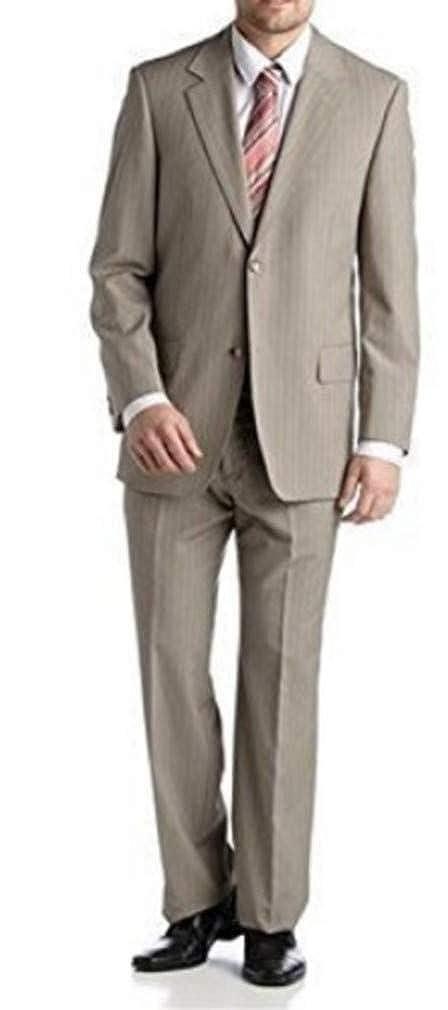 Studio Coletti Anzug im Nadelstreifendessin Beige  Amazon.de  Bekleidung fe2407acb5