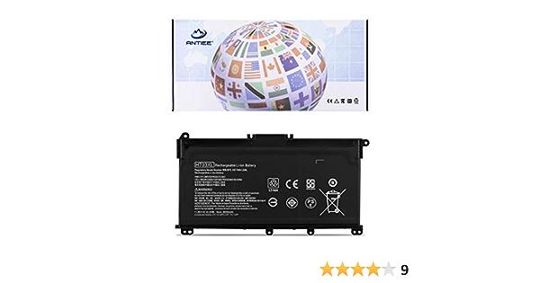 ANTIEE HT03XL Laptop Battery for HP Pavilion 14-CE 14-CF 14-cm 14-CK 14-DF 14-MA 15-DA 14Q-CS 15-CS 15-CW 15-DA 15-DB 17-by 17-CA HP 240 245 250 255 G7 340 348 G5 L11119-855 L11421-421 HSTNN-LB8M