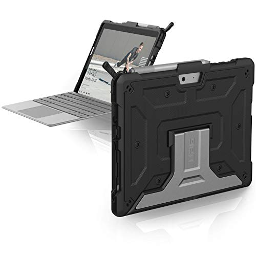 UAG Microsoft Surface Go Feather-Light Rugged [Black] Aluminum Stand Military Drop Tested Case