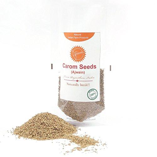 Kovidara Organics Carom Seeds | Natural Indian Farm Products from Rajasthan | ONE Pack by Ikshvaku