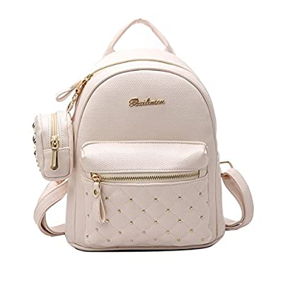 hot sale 2017 Lady Faux Leather Bag Mini Backpack for Teenagers School Travel Rucksack