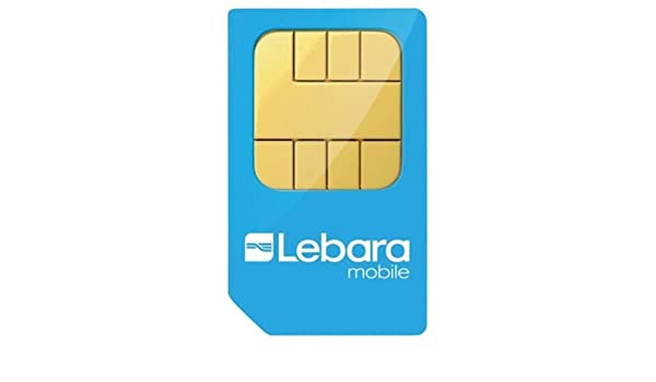 SIM de Lebara PAYG Triple Pack (2 SIMs del cliente): Amazon.es ...