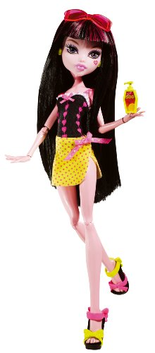 Monster High Gloom Beach Draculaura Doll