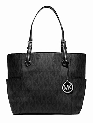 MICHAEL Michael Kors Jet Set East/West Signature Tote Black One Size