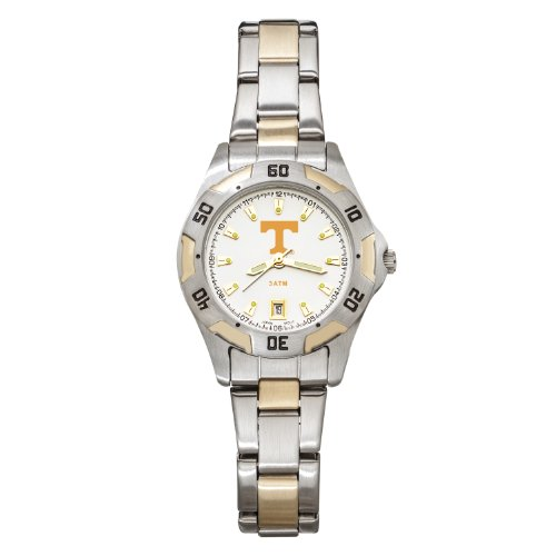 NCAA Tennessee Volunteers Women's All-Pro Two-Tone Watch by Logo Art