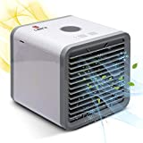 Calerix USB Mini Portable Air Conditioner - Air Conditioner for Room, Travel, Car, Camping - Mini Air Conditioner Hand - Personal Mini Air Cooler