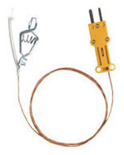 Fieldpiece ATAF1 High Temperature K-Type Thermocouple with Alligator Clip by Fieldpiece