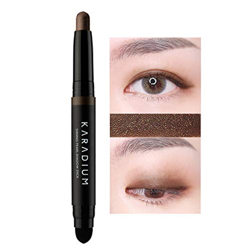 KARADIUM Shining Pearl Smudging Eye Shadow Stick 1.4g (#13 Desert Night) - Waterproof Long Lasting Daily Eye Makeup Eye Shadow Stick, Creamy Texture, Easy to Draw, Hypoallergenic for Sensitive Eyes