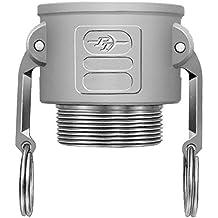 Dust Cap 1-1//2 Dixon Valve /& Coupling Valve PPH150 Polypropylene Boss-Lock Type H Cam and Groove Fitting