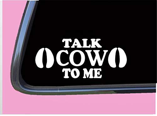 Talk Cow to Me TP 705 Car Window 8
