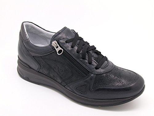 Nero Giardini stringate piel-Zapatillas para mujer