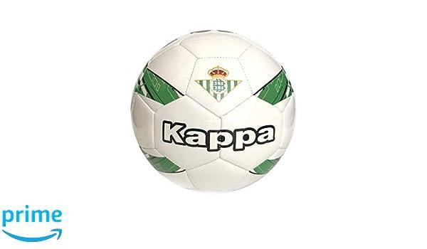 Kappa Betis 18/19 Balón de fútbol, White/Green/Black, Talla Única ...