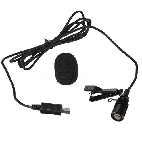 Microfone Externo Com Clip Para Câmeras GoPro Hero 3 Hero 3+ e Hero 4
