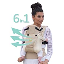 SIX-Position, 360° Ergonomic Baby & Child Carrier by LILLEbaby – The COMPLETE Airflow (Champagne)