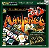BRAND NEW Gamesoft Mahjongg 3D Selectsoft OS Windows 98 Me 2000 Xp Hints Undo Moves Shuffle Mode Scores by GameSoft