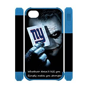NFL New York Giants Diy For Touch 4 Case Cover Case Dual Protective Polymer The Joker; Poker NY Giants Diy For Touch 4 Case Cover s