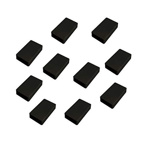 GUWANJI 10 Pcs Project Enclosure Box Waterproof ABS Plastic Project Organizer Box for Electronics DIY 3.94 x 2.36 x 0.98 inches(100x60x25mm),Black