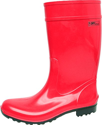 Damen Stiefel Rot Luisa 1235 Pvc OBxS11H