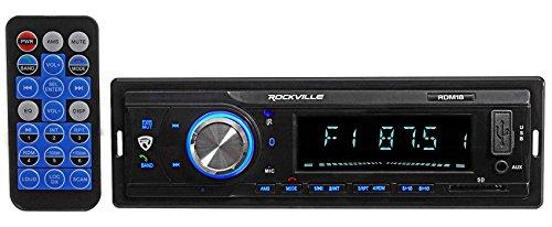 Digital Media Receiver/Radio+Kicker Front Speakers For 87-95 JEEP WRANGLER YJ by Rockville (Image #1)