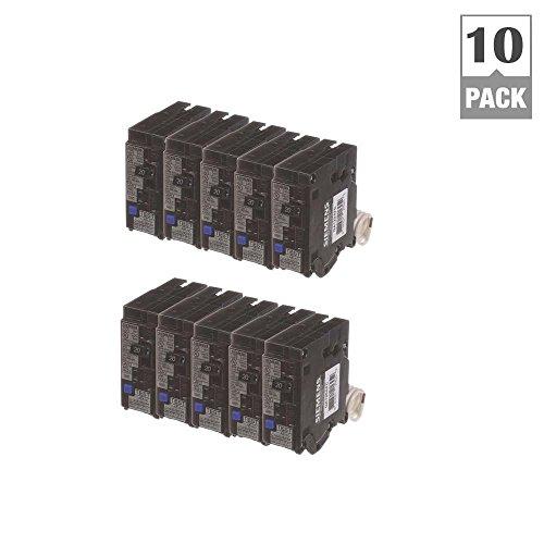 - 20 Amp Single Pole Combination AFCI Circuit Breakers (10 Pack)