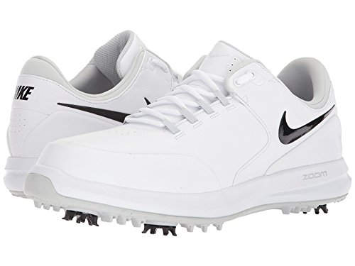[NIKE(ナイキ)] メンズランニングシューズ?スニーカー?靴 Air Zoom Accurate White/Black/Metallic Silver/Pure Platinum 9.5 (27.5cm) E - Wide