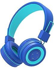 iClever Bluetooth Children Headphones, Koptelefoons voor kinderen met MIC, Volume Administable hoofdband, Vodable, Children's Headphones for iPad Tablet School