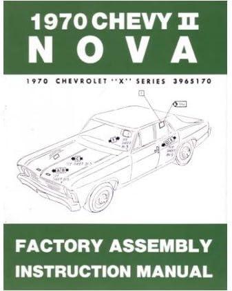 NOVA 1975 CHEVROLET ASSEMBLY SHOP MANUAL PARTS SERVICE RESTORATION REPAIR BOOK