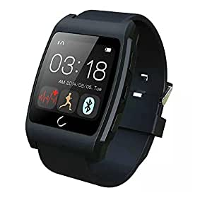 Luxsure UX Smart Watch with Heart Rate Monitor for Apple iphone 4/4S/5/5C/5S Samsung S2/S3/S4/Note 2/Note 3