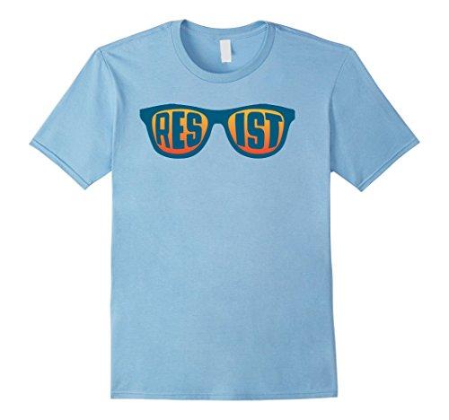 Resist Hipster Sunglasses Retro Vintage 80s shades - T Sunglasses Mills