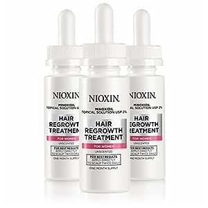 Nioxin Minoxidil Hair Regrowth Treatment Women, 6 oz.